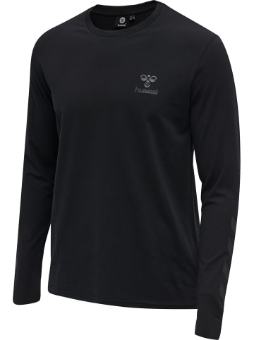 Hummel Hmlsigge T-Shirt L/S in Schwarz