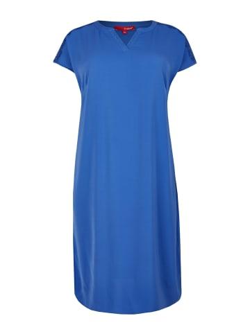 THEA Jerseykleid in blau