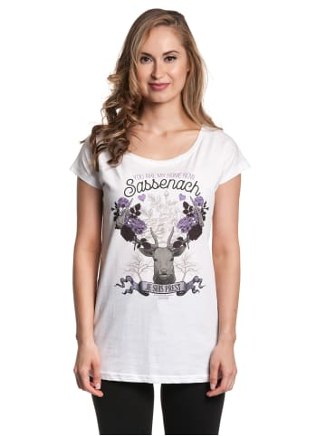 Sony Loose-Shirt Outlander You Are My Home in weiss