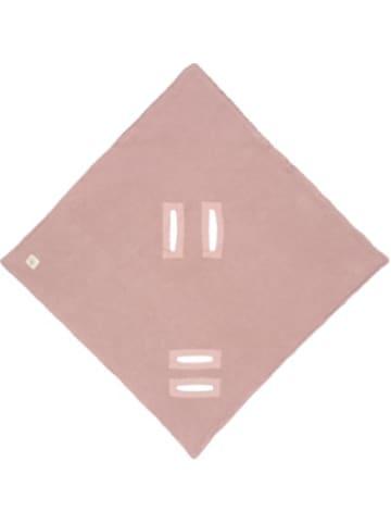 Lässig Einschlagdecke für Babyschale, rosa