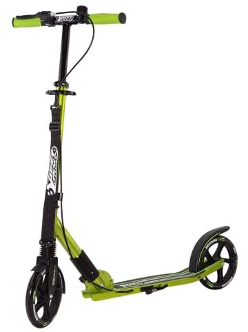 Best Sporting Scooter in Schwarz/Grün - ab 8 Jahren