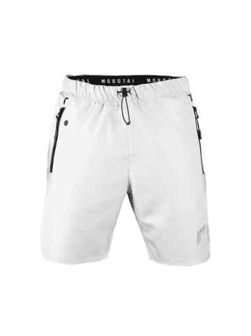 MOROTAI Kurze Sporthose High Performance Shorts 3.0 in Stone Grey