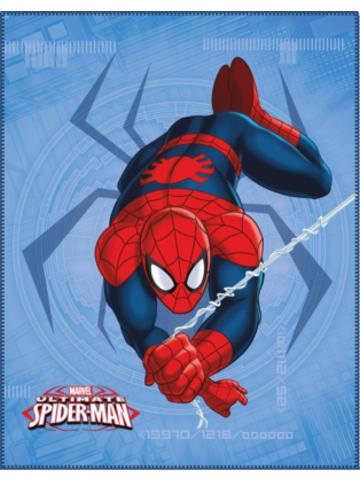 CTI Fleece Decke, Spiderman Spider, 110 x 140 cm