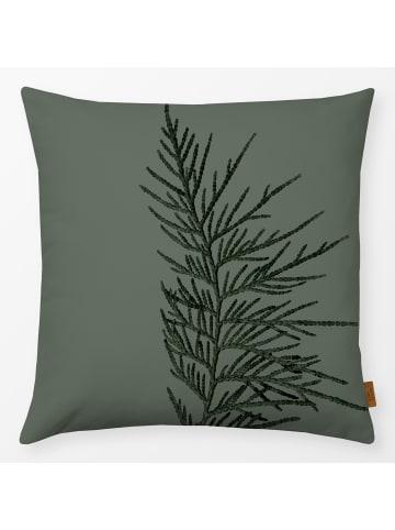 """Textilwerk Kissen """"Winter Branches 16X"""" grün"""