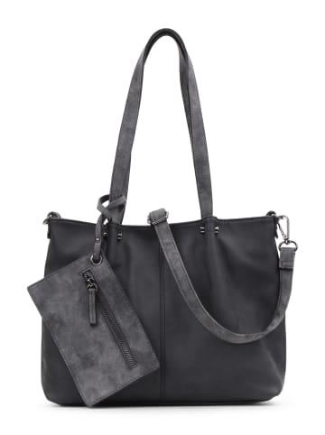 EMILY & NOAH Shopper Bag in Bag Surprise in black grey