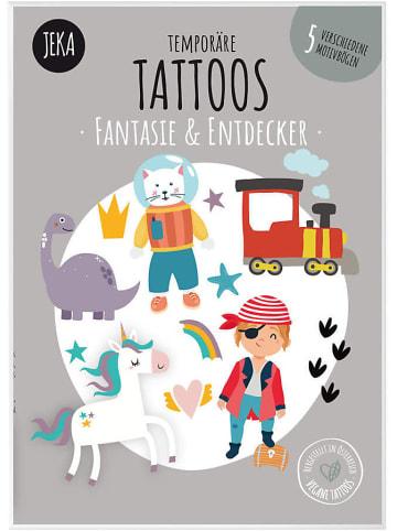 JEKA Papier und Spielwaren Temporäre Tattoos Fantasie & Entdecker
