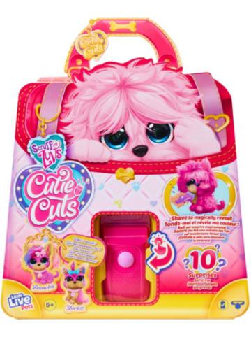 Moose Little Live Pets Scruff-a-luvs Cutie Cuts Überraschungshündchen in pink