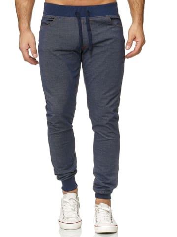 Arizona-Shopping Jogging Hose Jeans Optik Sweat Pants in Blau