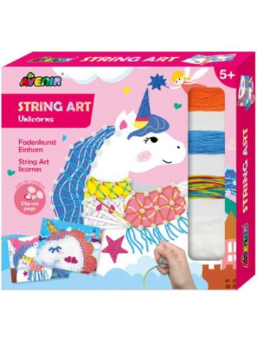 Avenir String Art Einhörner Fadenbild
