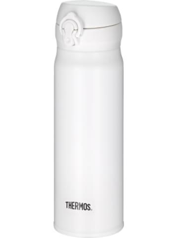 THERMOS Edelstahl Isolierflasche ULTRALIGHT BOTTLE snow white mat, 500 ml