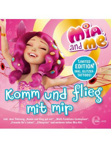 Edel CD Mia and me Liederalbum - Komm und flieg mit mir (12 Songs)