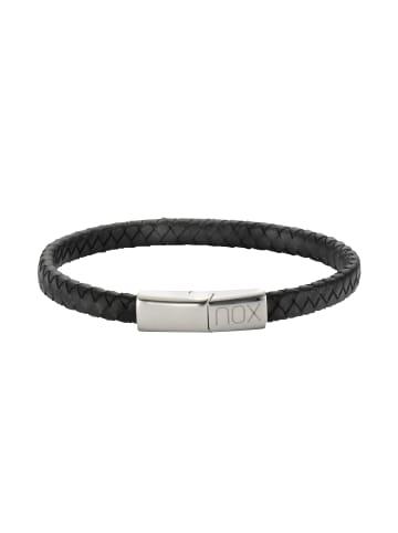 NOX Armbänder Edelstahl in schwarz