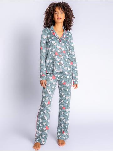 P.J. Salvage Pyjama Cozy Casual in khaki