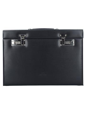 Windrose Ambiance Schmuckkoffer 37 cm Leder in schwarz