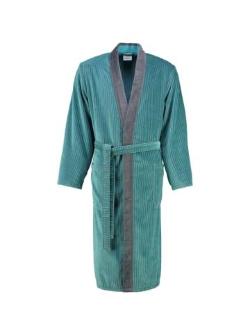 Cawö Bademäntel Kimono Luxury Home 5840 in türkis - 47