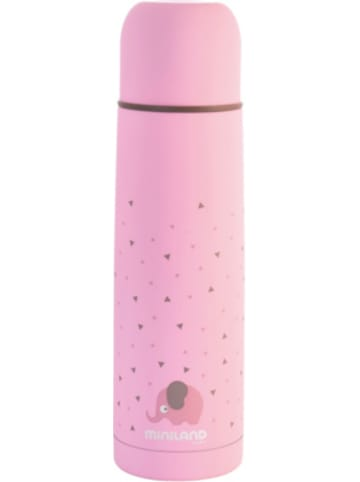 Miniland Thermoflasche Silky Thermo, 500 ml, pink