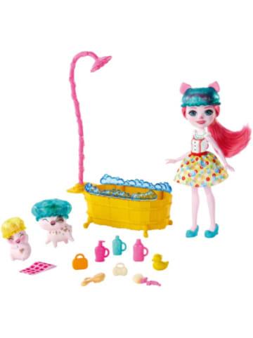 Mattel Enchantimals Badespaß Spielset mit Petya Pig & Streusel