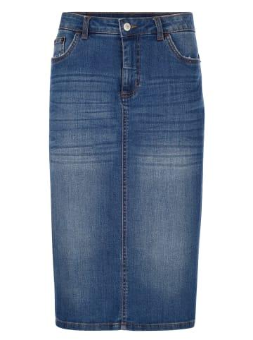Dress In Jeansrock in Blue bleached