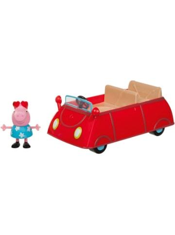 Jazwares PEPPA - Peppas rotes Auto mit 1 Spielfigur
