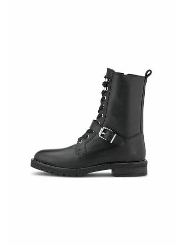 COX Schnürboots Trend-Boots in schwarz
