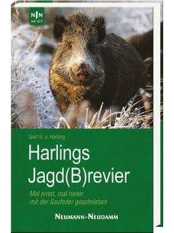 Neumann-Neudamm Harlings Jagd(B)revier   Mal ernst, mal heiter mit der Saufeder geschrieben