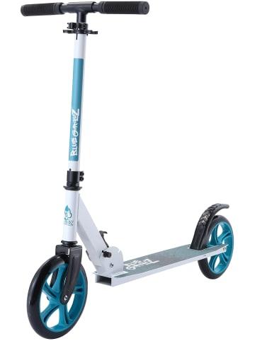"BLUE GORILLAZ Cityroller ""Standard"" in Weiß - 205mm"
