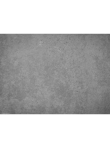 Tischsetmacher.de Tischset I Platzset abwaschbar - Betonoptik dunkel  - 4 Stück - 44 x 32 cm