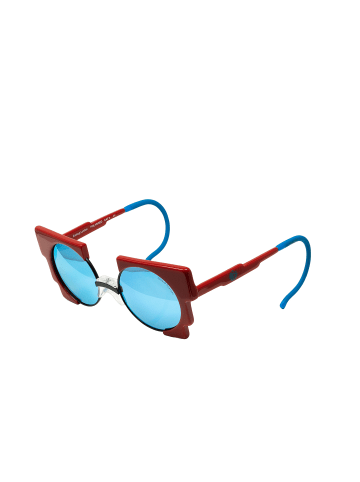 ZOOBUG Retrosonnenbrille Oscar für Kinder in red