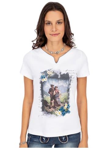 Trachten Stoiber T-Shirt 321109 weiss