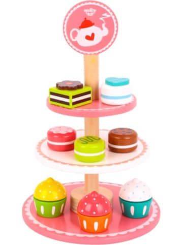 Tooky Toy Dessert Stand, Etagere aus Holz