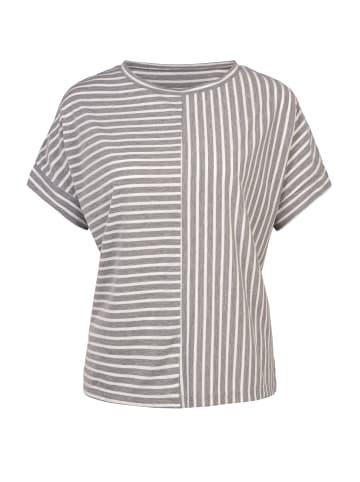 Million X - Women Damen Shirt Streifen in cool gray