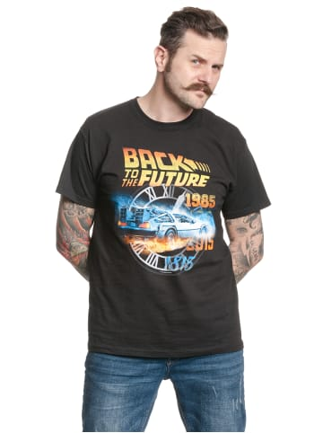 Nastrovje Potsdam T-Shirt Back To The Future Time in schwarz