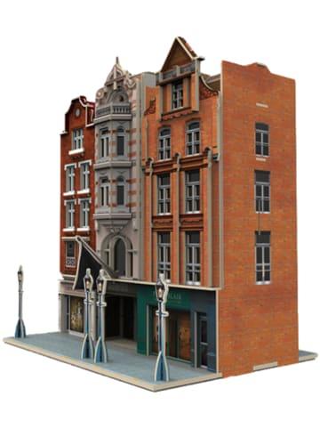 Märklin 72784 Start Up - 3D-Puzzle Gebäudebausatz Geschäftshäuser, 93 Teile