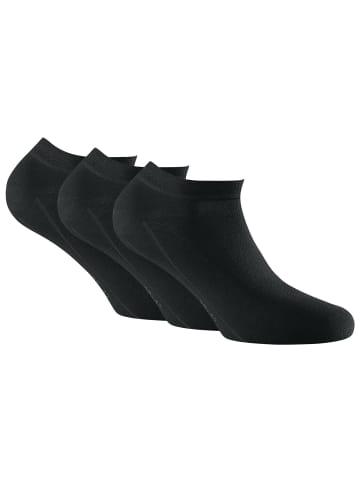 Rohner Socken 3er Pack in Schwarz