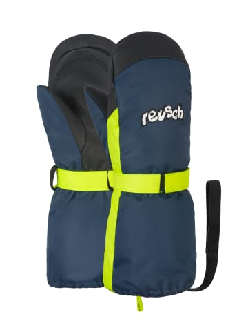 Reusch Fäustling Happy R-TEX® XT Mitten in dress blue/safety yellow