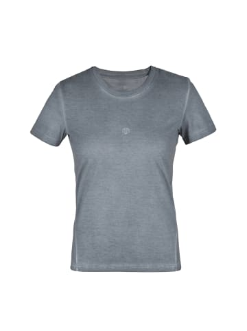 MOROTAI T-Shirt Washed Out Tee in Steel Grey