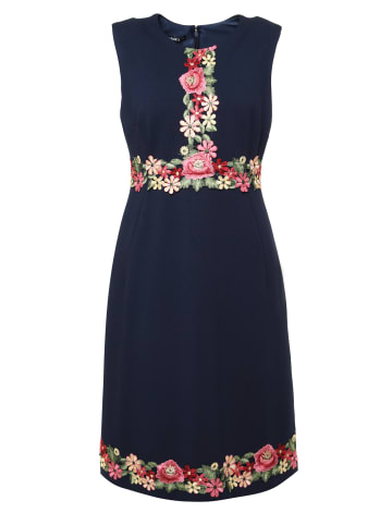 MaDam-T Minikleid Kleid Elonika in blau