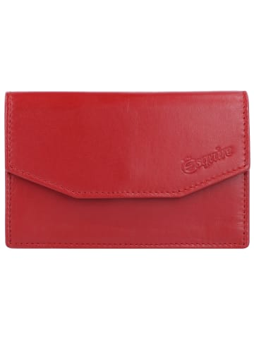 Esquire New Silk Schlüsseletui Leder 11 cm in rot