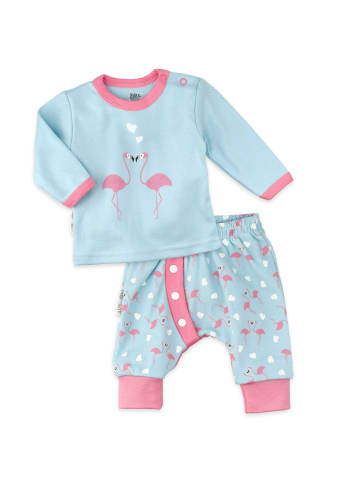 Baby Sweets 2tlg Set Shirt + Hose Made with Love in bunt