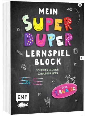 EMF Edition Michael Fischer Mein Super Duper Lernspielblock Schreiben, Rechnen, Schwungübungen
