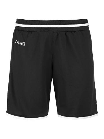 Spalding Shorts Move in schwarz / weiß