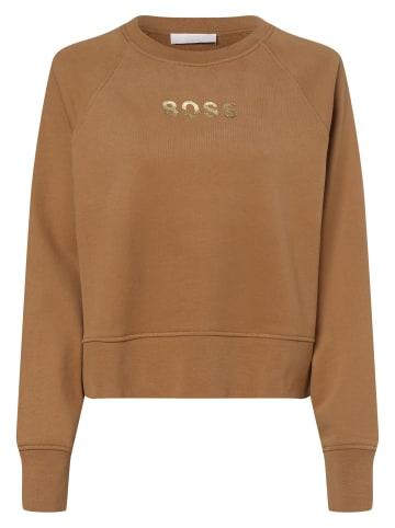 BOSS Sweatshirt C_Elia_Gold in beige