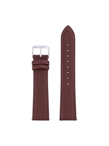 Sterzinger Uhrenarmband Leder in Braun in braun