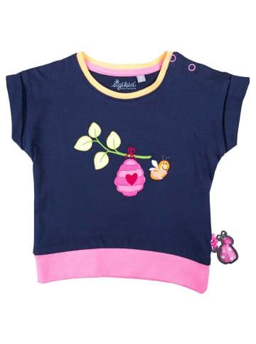 "Sigikid T-Shirt ""Spring Fever"" in Blau"