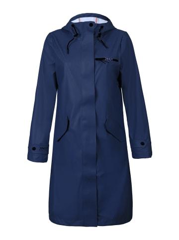 Dingy Rhythm Of The Rain Regenmantel Belle-1 in marineblau