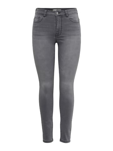 JACQUELINE de YONG Skinny Fit Jeans JDYNEWNIKKI High Waist Denim Hose in Grau