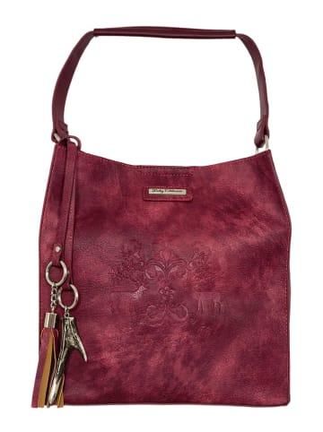Lady Edelweiss Trachtentasche 13103 bordeaux