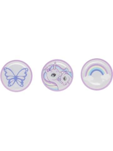 Dr. Beckmann Reflektor-Buttons Pink, 3 Stück