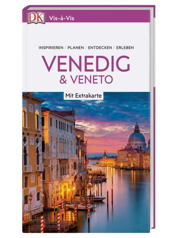 Dorling Kindersley Reiseführer Vis-à-Vis Reiseführer Venedig & Veneto   mit Extra-Karte zum Herausnehmen