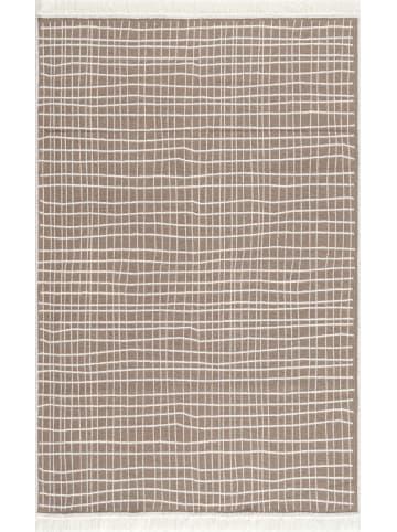 Livone Baumwoll Teppich Piatto DOLCHE natur/weiß
